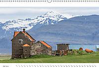 IslandFarben. 63°- 66°N Nordisches Farbenspiel auf Island (Wandkalender 2019 DIN A3 quer) - Produktdetailbild 7