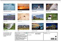IslandFarben. 63°- 66°N Nordisches Farbenspiel auf Island (Wandkalender 2019 DIN A2 quer) - Produktdetailbild 13