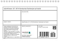 IslandFarben. 63°- 66°N Nordisches Farbenspiel auf Island (Tischkalender 2019 DIN A5 quer) - Produktdetailbild 13