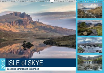 Isle of Skye, die raue schottische Schönheit (Wandkalender 2019 DIN A3 quer), Joana Kruse