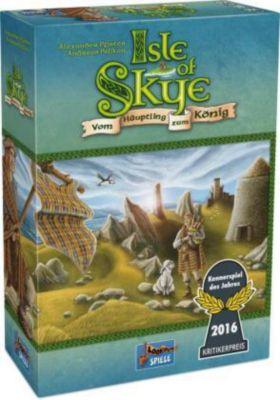 Isle of Skye - Kennerspiel des Jahres 2016 -, Alexander Pfister, Andreas Pelikan