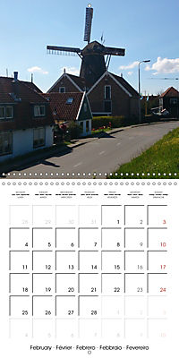 Isle of Texel (Wall Calendar 2019 300 × 300 mm Square) - Produktdetailbild 2