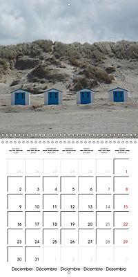 Isle of Texel (Wall Calendar 2019 300 × 300 mm Square) - Produktdetailbild 12