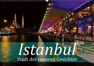Istanbul - Stadt der tausend Gesichter (Wandkalender 2019 DIN A2 quer), Liselotte Brunner-Klaus