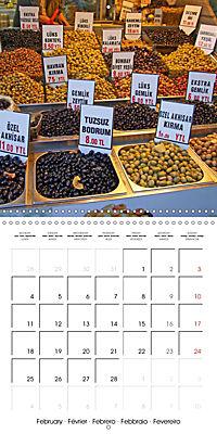 Istanbul Street Food (Wall Calendar 2019 300 × 300 mm Square) - Produktdetailbild 2