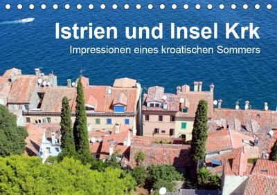 Istrien und Insel Krk - Impressionen eines kroatischen Sommers (Tischkalender 2019 DIN A5 quer), Anja Sucker