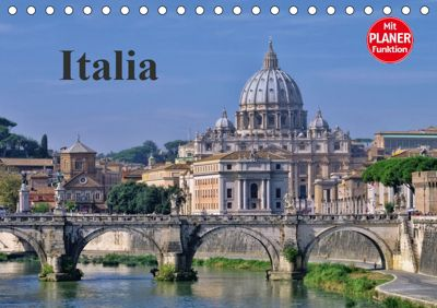 Italia (Tischkalender 2019 DIN A5 quer), LianeM