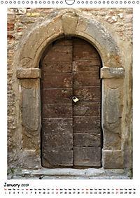 Italian Doors (Wall Calendar 2019 DIN A3 Portrait) - Produktdetailbild 1