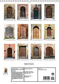 Italian Doors (Wall Calendar 2019 DIN A3 Portrait) - Produktdetailbild 13