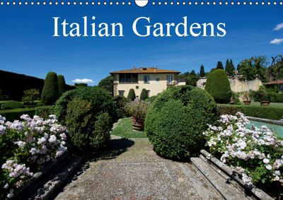 Italian Gardens (Wall Calendar 2019 DIN A3 Landscape), Gianluigi fiori