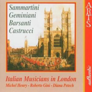 Italian Musicians In London, M. Henry, R. Gini, D. Petech