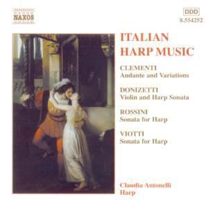Italienische Harfenmusik, Claudia Antonelli, Al Ambrosini