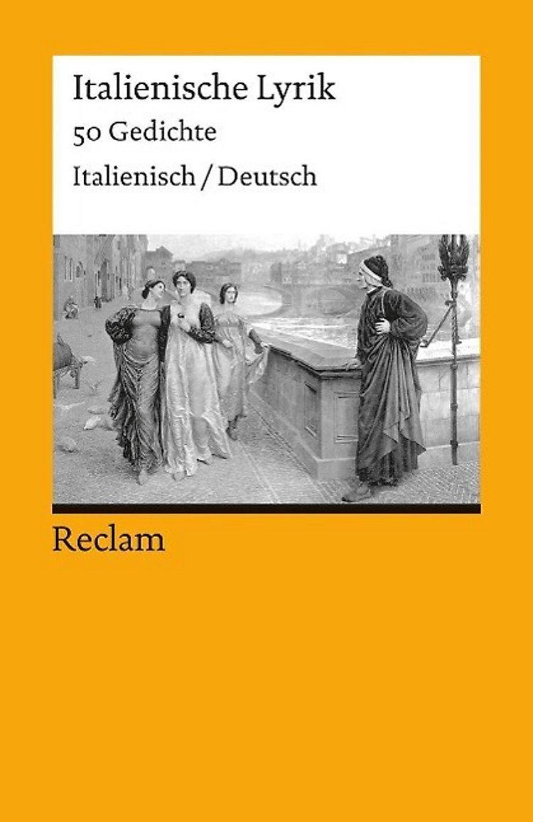 Italienische Lyrik Italienisch Deutsch Buch