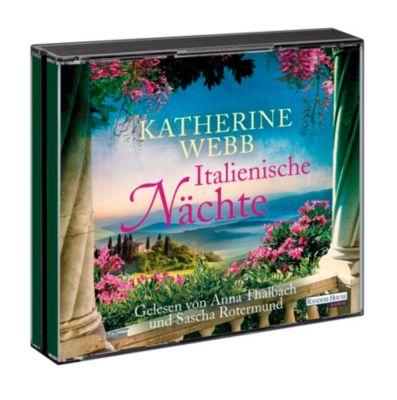 Italienische Nächte, 6 Audio-CDs, Katherine Webb