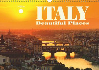 Italy - Beautiful Places (Wall Calendar 2019 DIN A3 Landscape), k.A. LianeM