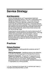 ITIL Version 3 at a Glance - Produktdetailbild 1