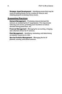 ITIL Version 3 at a Glance - Produktdetailbild 2