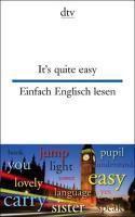 It's quite easy; Einfach Englisch lesen