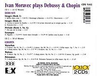 Ivan Moravec Spielt Debussy Und Chopin - Produktdetailbild 1