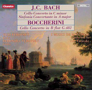 J.C.Bach & Boccherini: Cellokonzerte, Yuli Turovsky, Imm