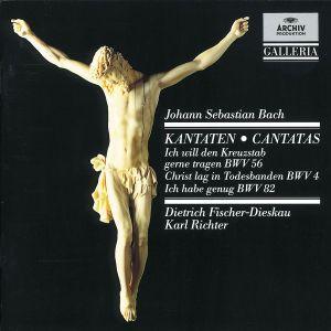 J.S. Bach: Cantatas BWV 56, BWV 4 & BWV 82, Dietrich Fischer-Dieskau, Karl Richter, Mbo
