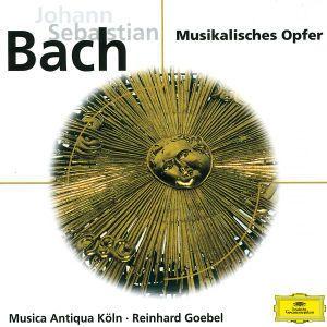 J. S. Bach: Musikalisches Opfer BWV 1079, Sonata No. 2 in Es BWV 1031 für Flöte und Cembalo, Sonate Nr. 3 in E BWV 1035, Reinhard Goebel, Mak