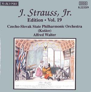 J.Strauss,Jr.Edition Vol.19, Walter, Alfred Walter, Slp, Staatsphilh.Der Cssr