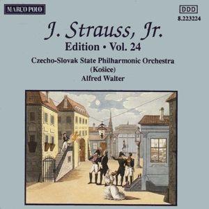 J.Strauss,Jr.Edition Vol.24, Walter, Johannes Wildner, Slp, Staatsphilh.Der Cssr