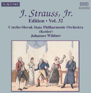 J.Strauss,Jr.Edition Vol.32, Johannes Wildner, Wildner, Slp, Staatsphilh.Der Cssr