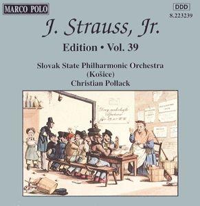 J.Strauss,Jr.Edition Vol.39, Pollack, Staatsphilh.Der Cssr