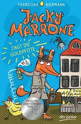Jacky Marrone jagt die Goldpfote, Franziska Biermann