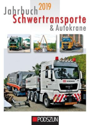 Jahrbuch Schwertransporte & Autokrane 2019