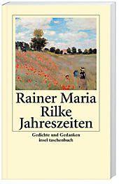 Jahreszeiten, Rainer Maria Rilke