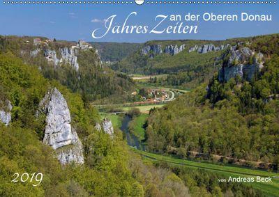 JahresZeiten an der Oberen Donau (Wandkalender 2019 DIN A2 quer), Andreas Beck