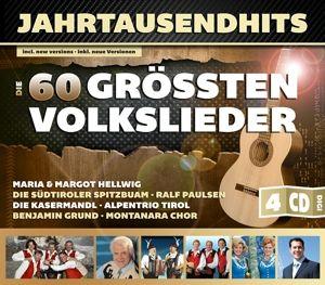 Jahrtausendhits-Die 60 Grössten Volkslieder, Diverse Interpreten