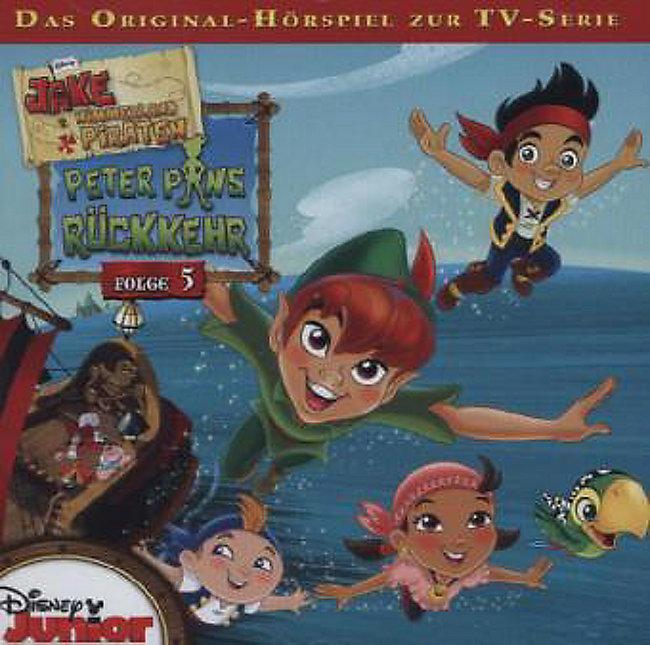 jake und die nimmerland piraten, 1 audio-cd hörbuch