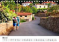 Jakobsweg - Camino Portugues Central (Tischkalender 2019 DIN A5 quer) - Produktdetailbild 5