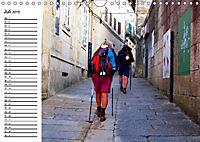 Jakobsweg - Camino Portugues Central (Wandkalender 2019 DIN A4 quer) - Produktdetailbild 2