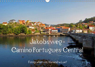 Jakobsweg - Camino Portugues Central (Wandkalender 2019 DIN A3 quer), Alexandra Luef