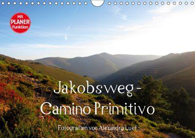 Jakobsweg - Camino Primitivo (Wandkalender 2019 DIN A4 quer), Alexandra Luef