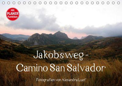 Jakobsweg - Camino San Salvador (Tischkalender 2019 DIN A5 quer), Alexandra Luef
