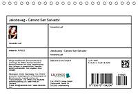Jakobsweg - Camino San Salvador (Tischkalender 2019 DIN A5 quer) - Produktdetailbild 13