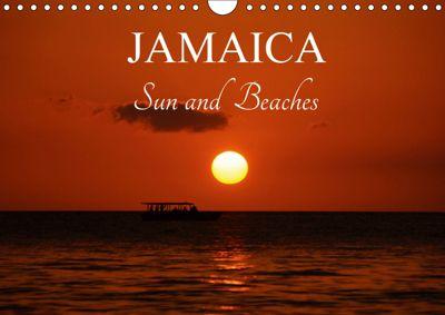 Jamaica Sun and Beaches (Wall Calendar 2019 DIN A4 Landscape), k.A. M.Polok