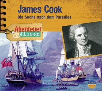 James Cook, 1 Audio-CD, Maja Nielsen