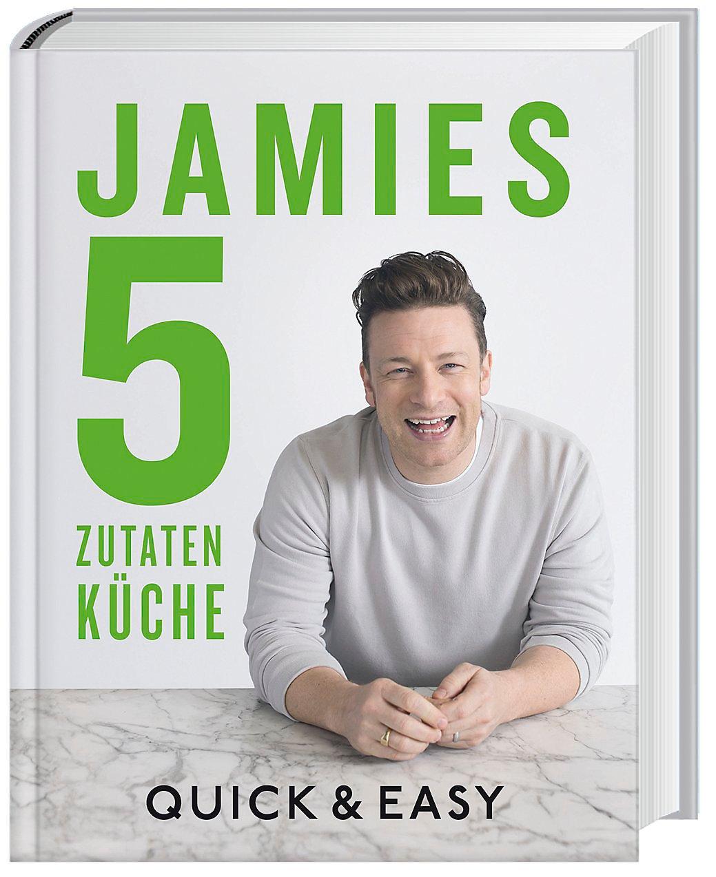 Jamies 5-Zutaten-Küche Buch bei Weltbild.de online bestellen