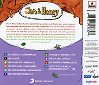 Jan & Henry - 9 Rätsel und 1 Lied, 1 Audio-CD - Produktdetailbild 1