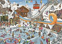 Jan van Haasteren - Die Winterspiele - 1000 Teile Puzzle - Produktdetailbild 1
