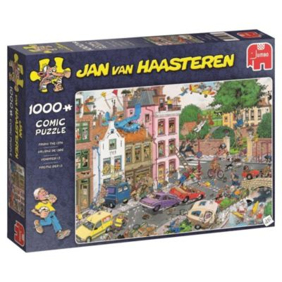 Jan van Haasteren - Freitag der 13. - 1000 Teile Puzzle