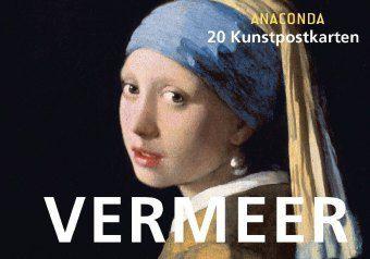 Jan Vermeer, Postkartenbuch - Jan Vermeer van Delft |
