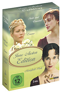 Jane Austen Edition, 3 DVD Box - Produktdetailbild 1